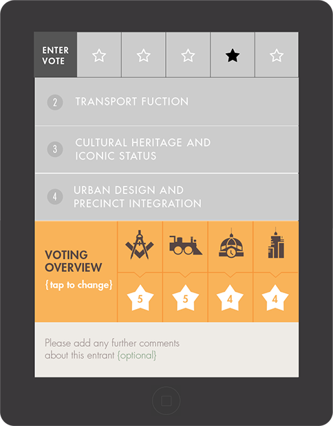 Flinders Street Station voting process