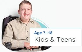 Age 7 - 18 Kids & Teens