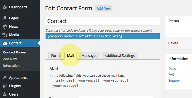 14.Mail-Config